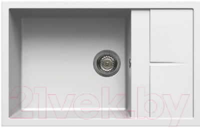 Мойка кухонная Elleci Unico 310 Bianco Titano G68 / LGU31068