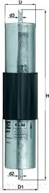 Топливный фильтр Knecht/Mahle KL66