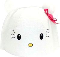 Шапка для бани Главбаня Китти / Б450141 (белый) -