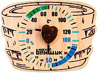 Термогигрометр для бани Невский банщик Шайка / Б1157 -