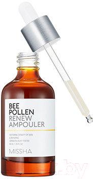 Сыворотка для лица Missha Bee Pollen Renew Ampouler обновляющая (40мл)