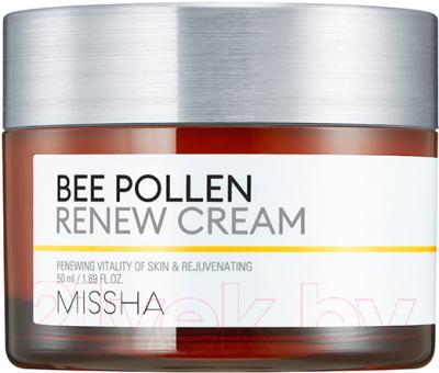 Крем для лица Missha Bee Pollen Renew Cream обновляющий (50мл)