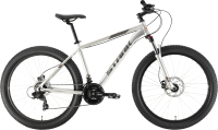 Велосипед STARK Hunter 27.2+ HD 2021 (22, серебристый/серый) -