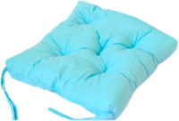 Подушка на стул Аделис Бязь 35x35 (голубой) -