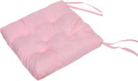 Подушка на стул Аделис Бязь 35x35 (розовый) -