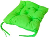 Подушка на стул Аделис Бязь 35x35 (салатовый) -