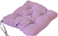 Подушка на стул Аделис Бязь 35x35 (фиолетовый) -