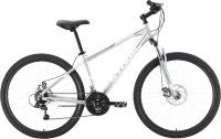 Велосипед STARK Outpost 27.1 D 2021 (20, серебристый/белый) -