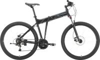 Велосипед STARK Cobra 27.2 HD 2021 (18, черный/серый) -
