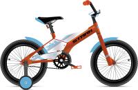 Детский велосипед STARK Tanuki 16 Boy 2021 (оранжевый/голубой) -