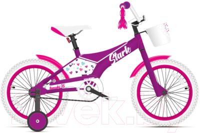 Детский велосипед STARK Tanuki 16 Girl 2021