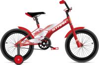 Детский велосипед STARK Tanuki 14 Boy 2021 (красный/белый) -
