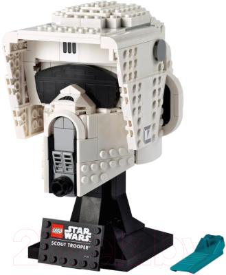 Конструктор Lego Star Wars Шлем пехотинца-разведчика 75305