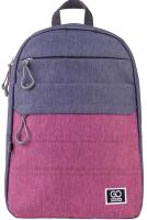 Рюкзак GoPack Сity / 21-118-1-L Go (серый/розовый) -