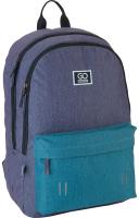 Рюкзак GoPack Сity / 21-140-1-L Go (серый/бирюзовый) -