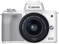 Беззеркальный фотоаппарат Canon EOS M50 Mark II EF-M 15-45mm IS STM Kit / 4729C005 (белый) -