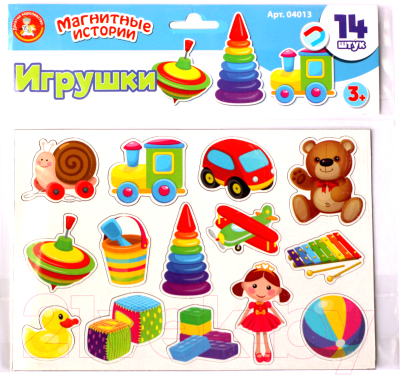Развивающая игрушка Десятое королевство Магниты. Игрушки / 04013