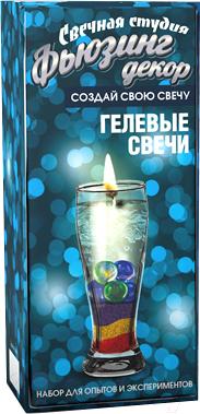 Набор для изготовления свечей Инновации для детей Фьюзинг декор / 726