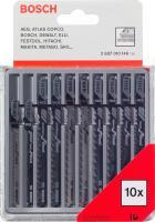 Набор пильных полотен Bosch 2.607.010.146 (10 предметов) -