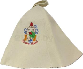 Шапка для бани Королевна Хозяин бани / 5113-5022