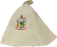 Шапка для бани Королевна Хозяин бани / 5113-5022 -