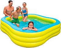 Надувной бассейн Intex Swim Center / 57495NP (229x56) -