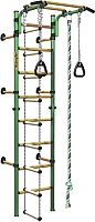Детский спортивный комплекс Kampfer Strong Kid Wall (зеленый/желтый, стандарт) -
