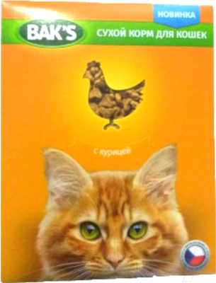 Корм для кошек Bak's С курицей (10кг)