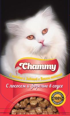 Корм для кошек Chammy С лососем и форелью (85г)