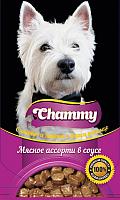 Корм для собак Chammy Мясное ассорти (85г) -