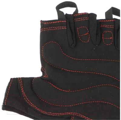 Перчатки для пауэрлифтинга Indigo SB-16-1575 (S, черный)