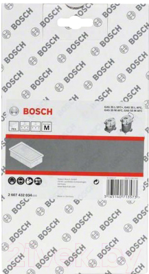 Фильтр для пылесоса Bosch 2.607.432.034