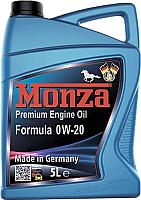 Моторное масло Monza Formula 0W20 / 0195-5 (5л) -
