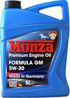 Моторное масло Monza Formula GM 5W30 / 1365-5 (5л)
