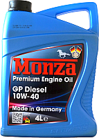 Моторное масло Monza GP Diesel 10W40 / 0085D-4 (4л) -