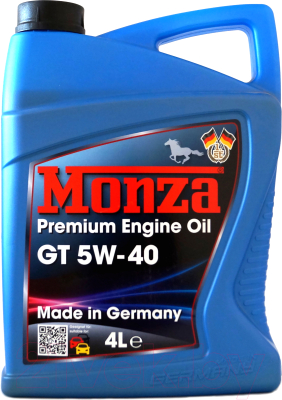 Моторное масло Monza GT 5W40 / 0145-4 (4л)