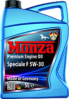 Моторное масло Monza Speciale F 5W30 / 1395-5 (5л) -