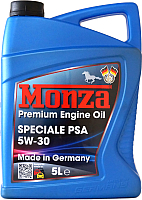 Моторное масло Monza Speciale PSA 5W30 / 1385-5 (5л) -