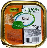 Корм для кошек My Happy Pets Говядина с печенью (100г) -