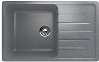 Мойка кухонная Ulgran U-400 (309 темно-серый) -