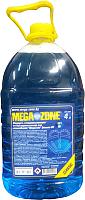 Жидкость стеклоомывающая MegaZone Classic зима -20 / 9000065 (4л, синий) -