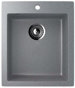 Мойка кухонная Ulgran U-404 (309 темно-серый)