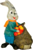 Фигурка для сада Студия Фигур Заяц с яблоками / Ф019 -