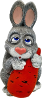 Фигурка для сада Студия Фигур Зайкина Любовь-Морковь / Ф095 -