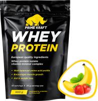 Протеин Prime Kraft Whey Клубника-банан (900г) -