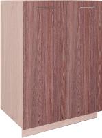 Шкаф под мойку Артём-Мебель СН-114.21 (600) (ясень темный/ясень светлый) -