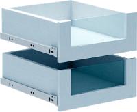 Модуль с ящиком MFMaster Прайм стекло / МСТ-МСП-БС-БТ-16 (белый) -