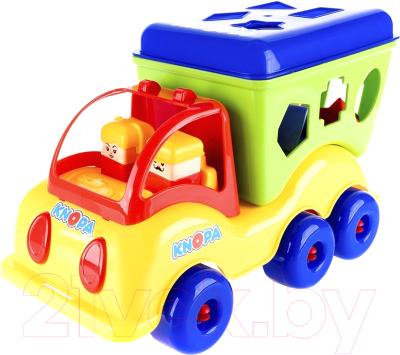Развивающая игрушка Knopa Сортер-автомобиль. Силач / 87008