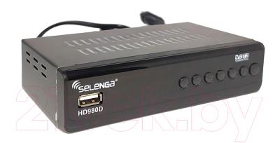 Тюнер цифрового телевидения Selenga HD980D
