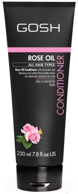 помада gosh gosh go025lwcjyp2 Кондиционер для волос GOSH Copenhagen Rose Oil Conditioner